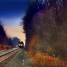 """"""" Sunset Express """" by canonman99"""