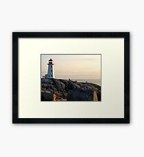 Safe Haven 2 - Peggy's Cove Framed Print