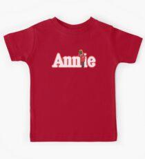 Little Orphan Annie Skywalker Kids Tee