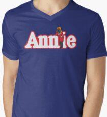 Little Orphan Annie Skywalker Men's V-Neck T-Shirt