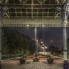 HDR at poulton train station by blueandwhite80