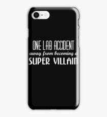 Super Villain iPhone Case/Skin