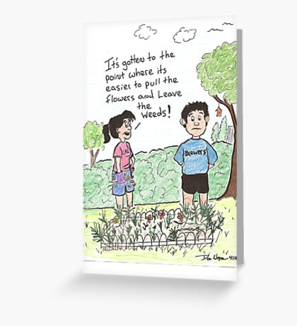 Its hopeless! Greeting Card