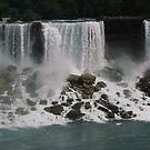 Niagra Falls - Canadian Side by Kimberly M. Rupert