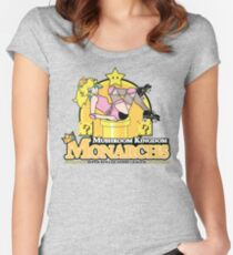 The Mushroom Kingdom Monarchs Women's Fitted Scoop T-Shirt