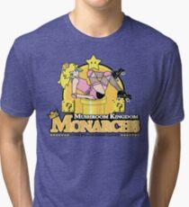 The Mushroom Kingdom Monarchs Tri-blend T-Shirt