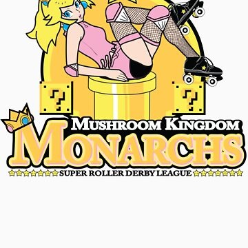The Mushroom Kingdom Monarchs by rtofirefly