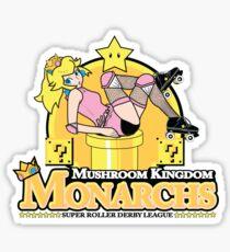 The Mushroom Kingdom Monarchs Sticker