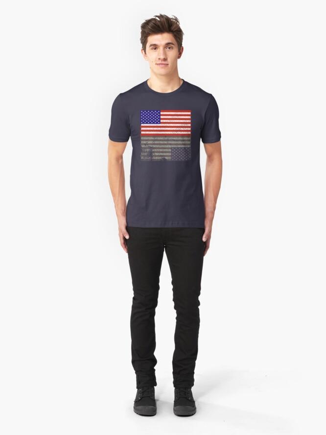 Alternate view of Hawkins 1985 Slim Fit T-Shirt