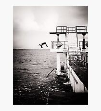 back flip.. Photographic Print
