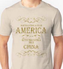 Pig in America Unisex T-Shirt