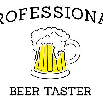 Professional beer taster by florintenica