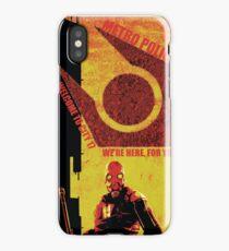 Half Life Metro Police Propaganda  iPhone Case