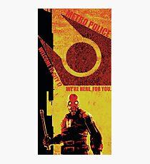 Half Life Metro Police Propaganda  Photographic Print