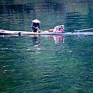 Li River Fisherman by phil decocco