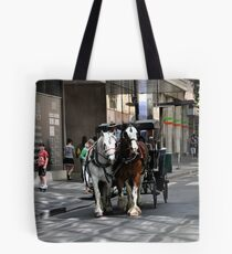 Melbourne City Streetscape Tote Bag