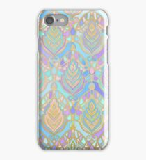 Jade & Blue Enamel Art Deco Pattern iPhone Case/Skin