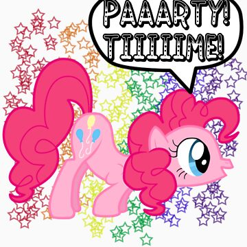 Pinkie Pie Party Time by Jaelachan