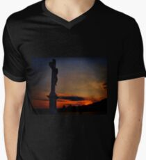 The last moments of life Mens V-Neck T-Shirt