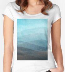 Aquamarine Women's Fitted Scoop T-Shirt
