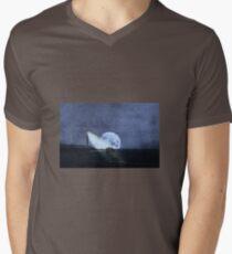 Across The Sea A Pale Moon Rises T-Shirt