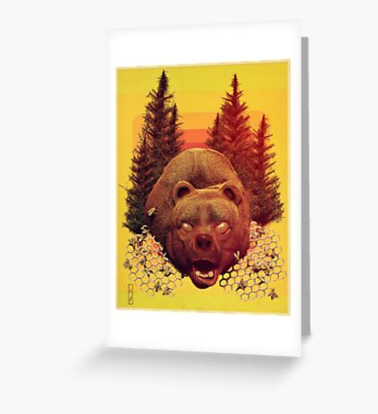 'OTSO-King of the Forest' Greeting Card