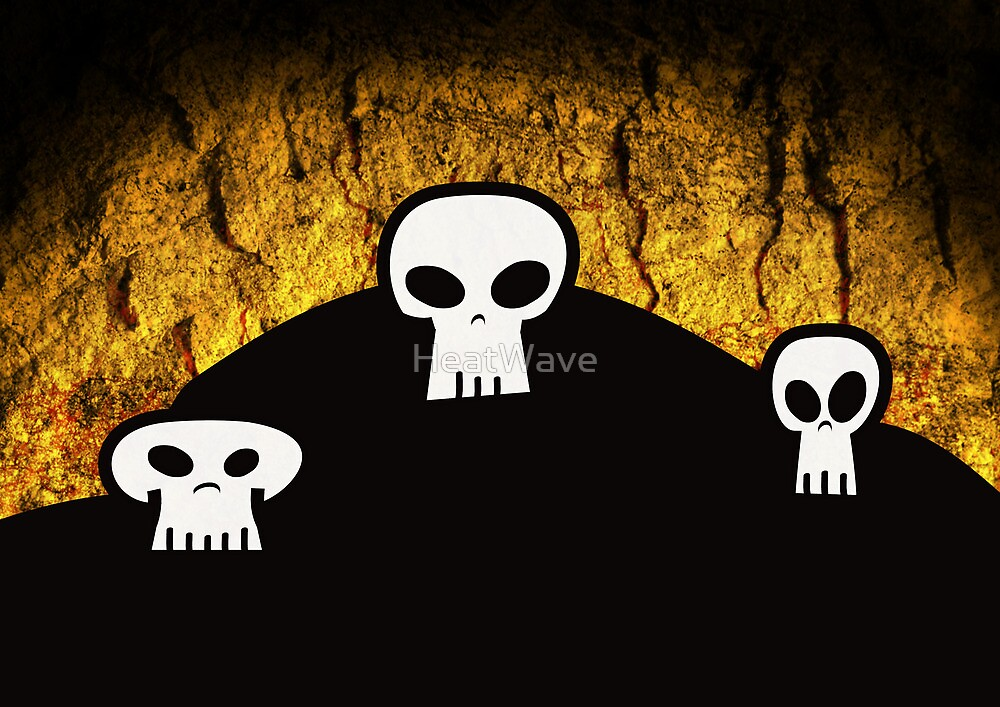 Skulls by HeatWave