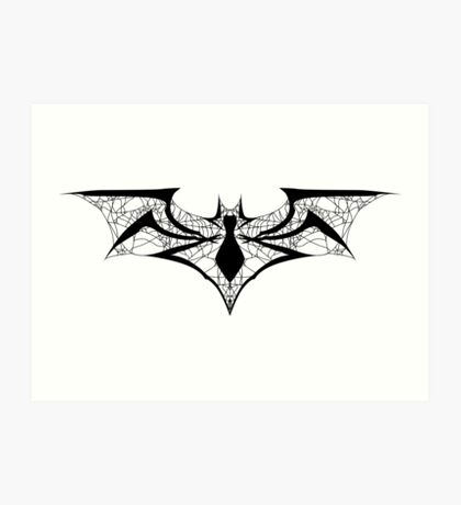 Spider-Bat Art Print
