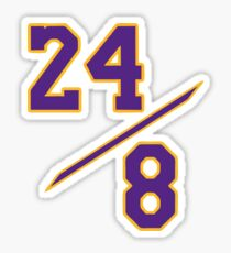 24 8 Kobe Sticker