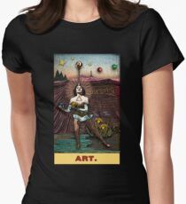 Art / Temperance: Circus Tarot from Duck Soup Productions Womens Fitted T-Shirt