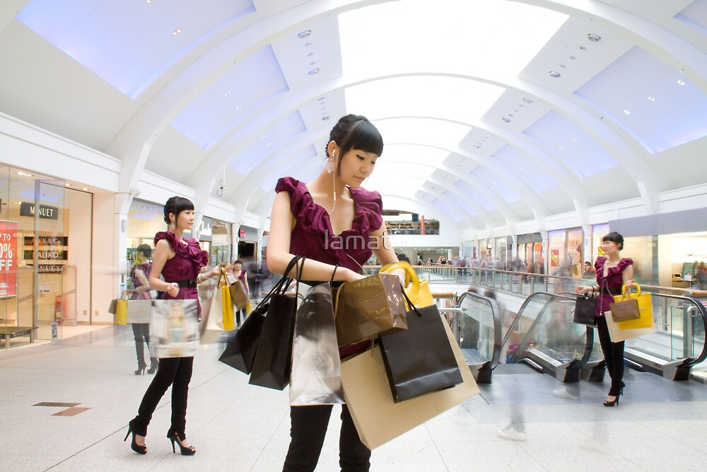 shopping adiction by lamat