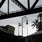 beneath Sydney's Harbour Bridge by geof