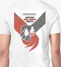 "DISTRICT 9 ""Support Non-human rights"" Unisex T-Shirt"