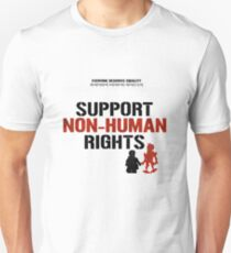 "DISTRICT 9 ""Support Non-human rights"" 2 Unisex T-Shirt"