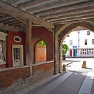 Kingsgate arch, Winchester, southern England. by Philip Mitchell
