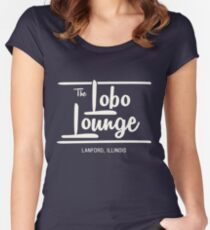 The Lobo Lounge Women's Fitted Scoop T-Shirt