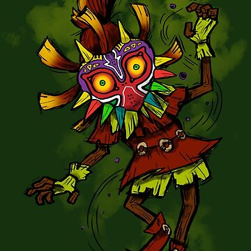 Skull Kid by sugarpoultry