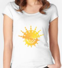 Sun Star Women's Fitted Scoop T-Shirt