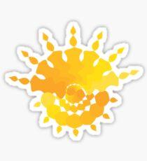 Sun Star Sticker