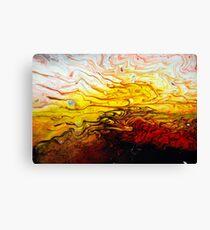 Acrylic Fluidity Canvas Print