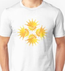 Sun Star Pattern Unisex T-Shirt