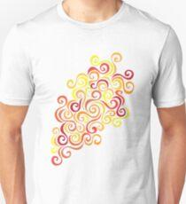 Firery Curlicules T-Shirt