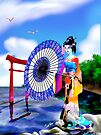 Geisha Walk by SEspider