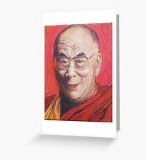 His Holiness the Dalai Lama Greeting Card