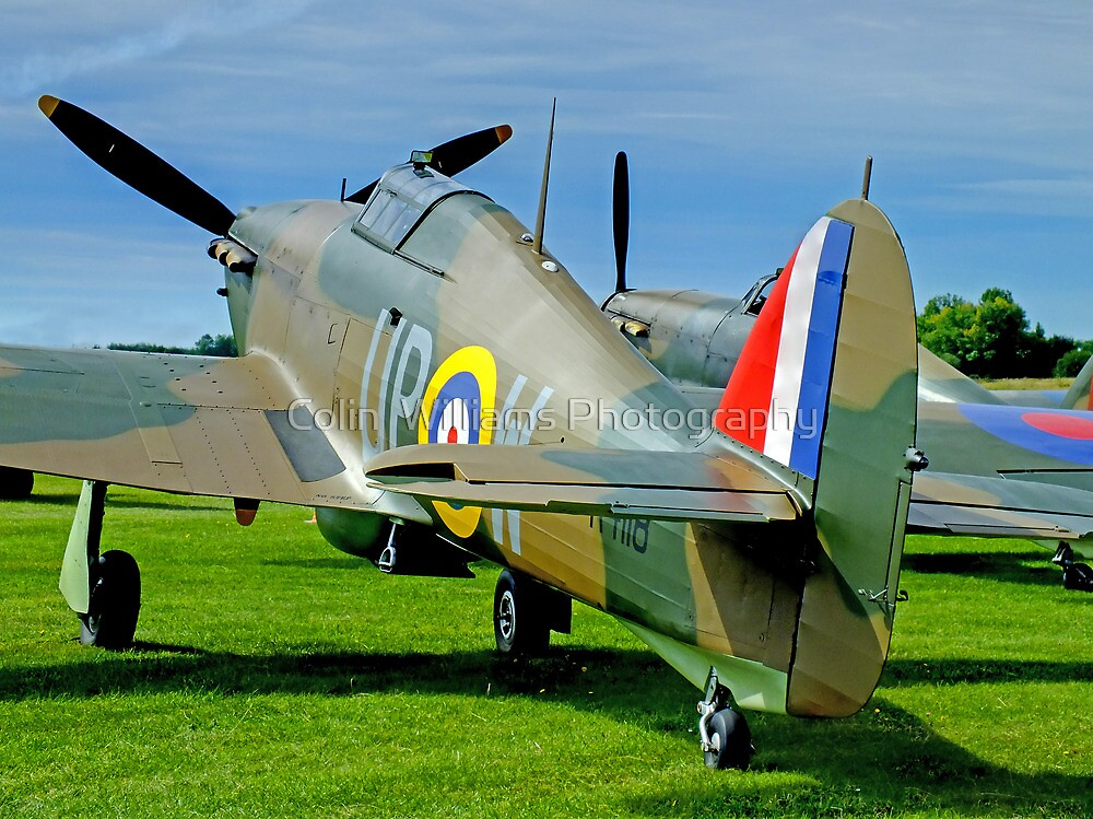 Twin Hurricanes  by Colin  Williams Photography