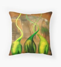 The affair continues Throw Pillow