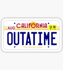 OUTATIME Sticker