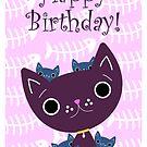 Mum and Kittens card by MFSdesigns