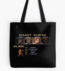 Streets of Rage 2 – Select Blaze Tote Bag