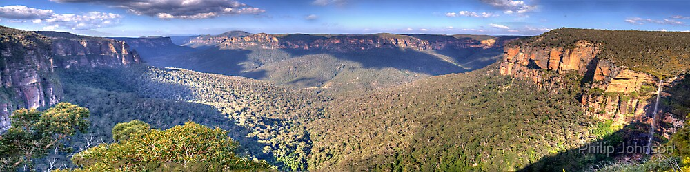 Simply Iresistable - Govetts Leap, Blue Mountains, Sydney (30 Exposure HDR Panorama) - The HDR Experience by Philip Johnson
